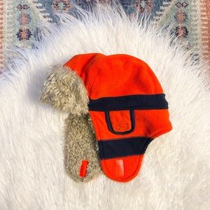 {baby gap} faux sherpa trapper hat holiday winter